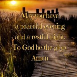 May You Have A Peaceful