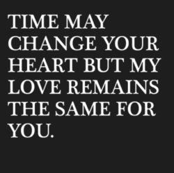 Time May Change Your