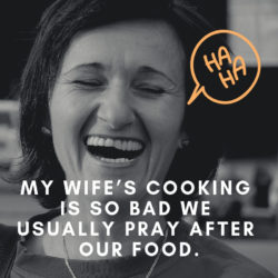 My Wife's Cooking...