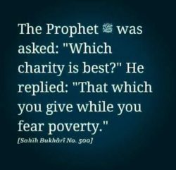 The Prophet PBUH Was Asked...