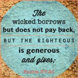 The Wicked Borrows But Doesnt Pay Back
